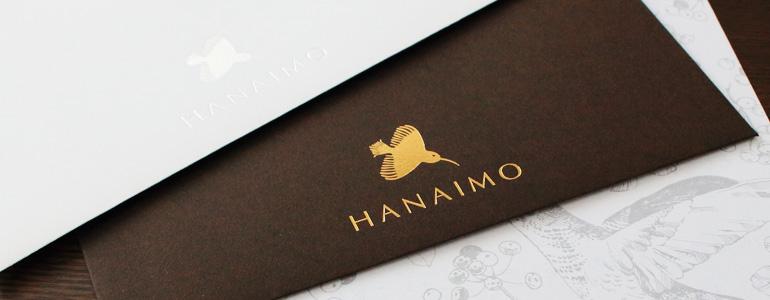 HANAIMOオリジナル 「きちんとお手紙セット」